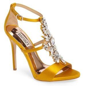 Badgley Mischka Basile Crystal Embellished Sandal